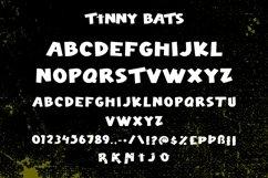 Web Font Tinny Bats - Halloween Display Font Product Image 5