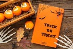Web Font Tinny Bats - Halloween Display Font Product Image 6
