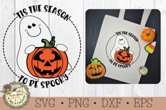 Halloween SVG Bundle-Tis the Season-Ghost-Witch-Pumpkin Product Image 2