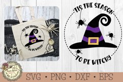 Halloween SVG Bundle-Tis the Season-Ghost-Witch-Pumpkin Product Image 4