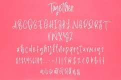 Web Font Together - Beauty Handwritten Font Product Image 2