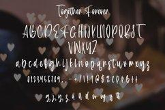Web Font Together Forever - Valentine Display Font Product Image 4