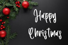 Tolerance - Christmas Handwritten Font Product Image 3