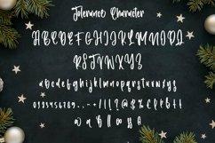 Web Font Tolerance - Christmas Handwritten Font Product Image 4