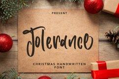 Tolerance - Christmas Handwritten Font Product Image 1