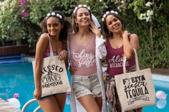 Final Fiesta svg bundle dxf png eps - Bachelorette Party Product Image 4