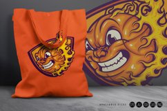 Mad Basketball On Fire SVG Illustrations Product Image 3
