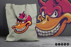 Smiling Duck Devil Character SVG Illustrations Product Image 4
