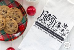 Frosty's Snowflake Cafe SVG | Christmas / Winter Design Product Image 3