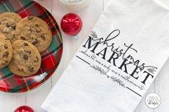 Christmas Market SVG   Winter Farmhouse Design Product Image 3