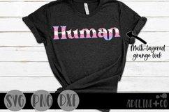 Human | Transgender Pride, SVG, PNG, DXF Product Image 1