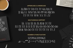 Web Font Tredway Product Image 4