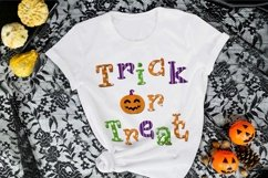 Trick or Treat Halloween Sublimation Design PNG Product Image 3