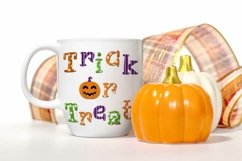 Trick or Treat Halloween Sublimation Design PNG Product Image 2