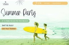 Web Font Tropical Smoothie - Cool Summer Font Product Image 2