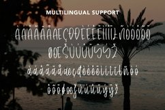 Web Font Tropical Smoothie - Cool Summer Font Product Image 4