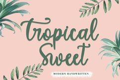 Tropical Sweet Product Image 1