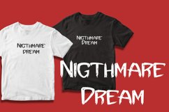 Terrible Dream - Horor & Scary Font Product Image 2