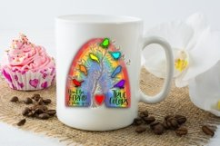 Don't Be Afraid True Colors - A Rainbow Sublimation PNG File Product Image 4