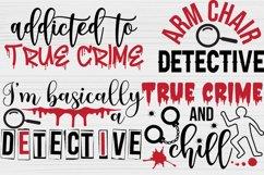 True Crime SVG Bundle, Crime Shows svg, Murder Shows svg Product Image 2