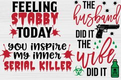 True Crime SVG Bundle, Crime Shows svg, Murder Shows svg Product Image 3