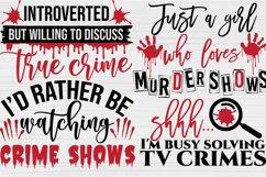 True Crime SVG Bundle, Crime Shows svg, Murder Shows svg Product Image 6