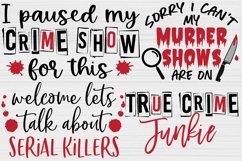 True Crime SVG Bundle, Crime Shows svg, Murder Shows svg Product Image 5