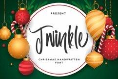 Web Font Twinkle - Christmas Handwritten Font Product Image 1