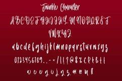 Web Font Twinkle - Christmas Handwritten Font Product Image 6