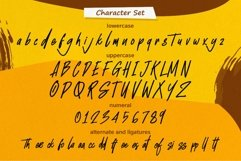 Unofficial - Authentic brush font Product Image 3