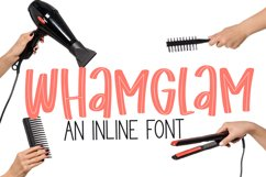 Whamglam - an inline marker font Product Image 1