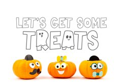 Spooky - Letters Dressed as Ghosts! A Halloween Font Product Image 2