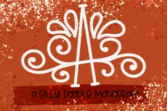 A Silly Doodle Monogram Monoline Product Image 2