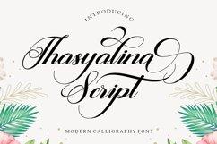 Thasyalina Script Product Image 1