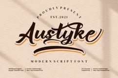 Austyke - Modern Script Font Product Image 1