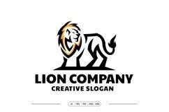 Elegant Lion Logo Template Product Image 2