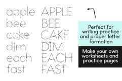 School Days Dash - Handwriting Practice Font Product Image 2