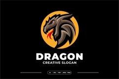 Dragon Mascot Logo Template Product Image 2