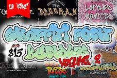 Graffiti Font Bundles vol.2 Product Image 1