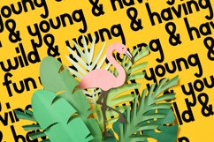 Wild and Young - A Simple, Thick, Clean, Craft Ready Font Product Image 4