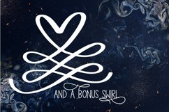 A Formal Monogram Font - Initials For Wedding Product Image 3