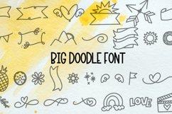 Big Doodle Font For Word Art - Dingbat Font Product Image 1