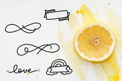 Big Doodle Font For Word Art - Dingbat Font Product Image 3