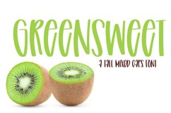 Green Sweet - A Tall Mixed Caps Font Product Image 1