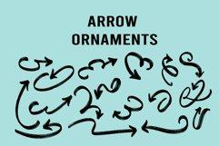 arrow ornaments dingbats Product Image 2