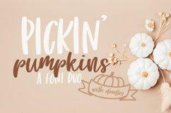 Pickin' Pumpkins - A Font Duo Product Image 1
