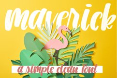 Maverick - A Simple Clean Font Product Image 1