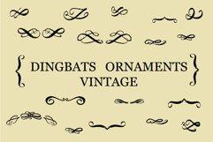 dingbats ornaments vintage Product Image 1