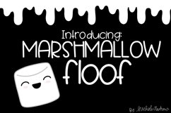 Marshmallow Floof - A Quirky Handwritten Font Product Image 1