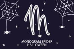 Monogram Spider Halloween Font Product Image 1